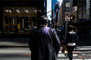 new york stylianos papardelas usa traveling street photography tie out of touch