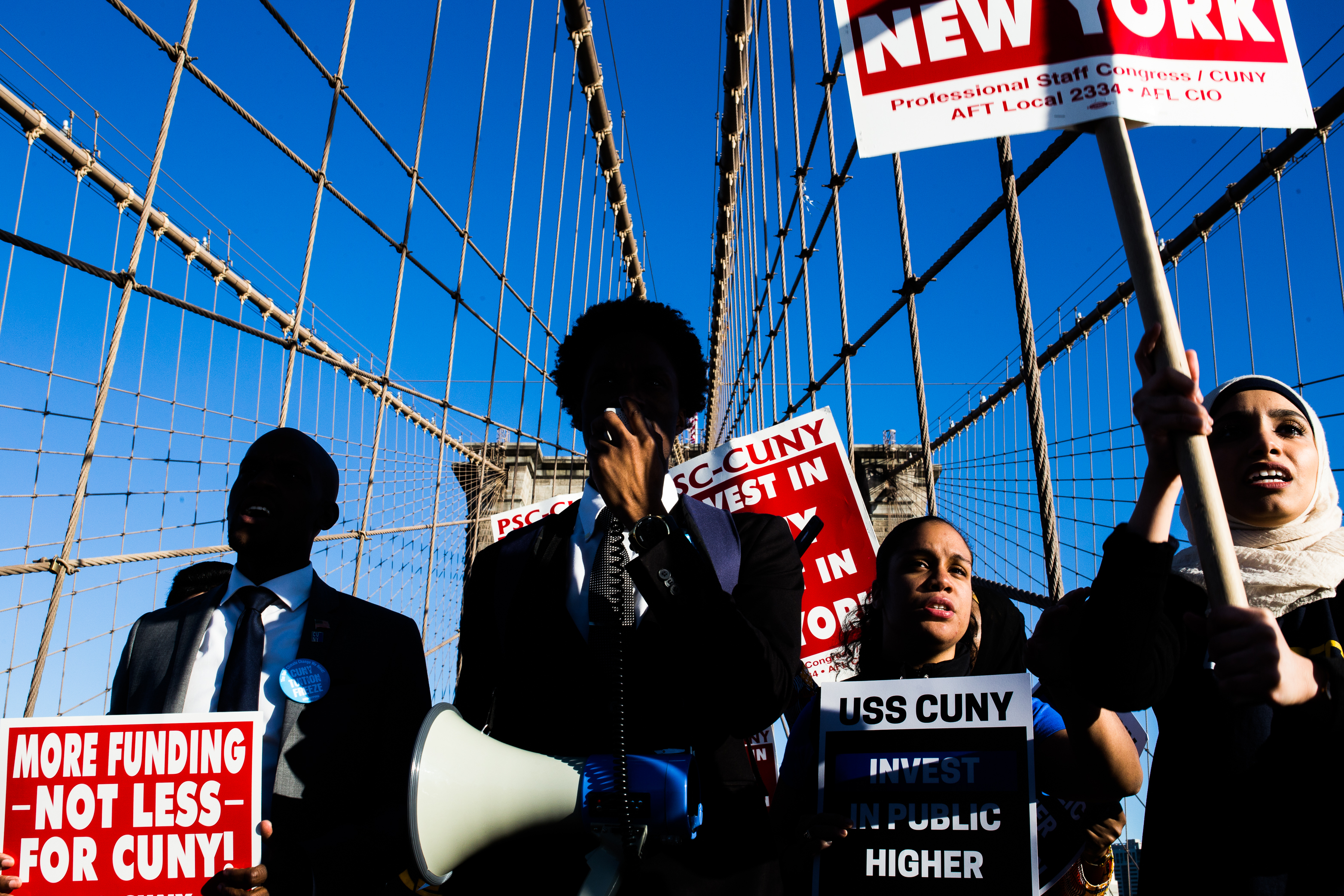 new york brooklyn bridge psc cuny united states of america stylianos papardelas
